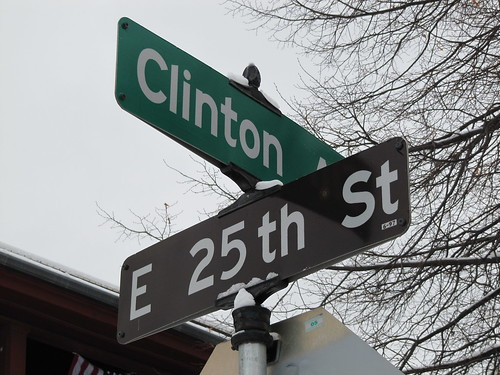 Clinton Ave S at E 25th St