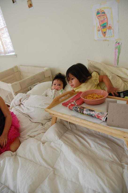 soul's birthday breakfast in bed