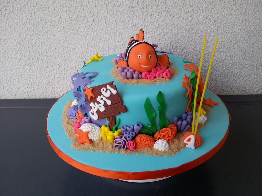Alexsandra caldeira bolos decoradoss most interesting flickr photos bolo do nemo para o meu filhote inspirado no original da cake designer maria altavistaventures Choice Image