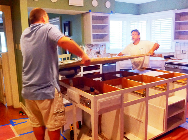 Zesty Nest Kitchen Reno There Go The Countertops