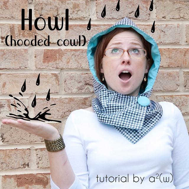 howl logo rain