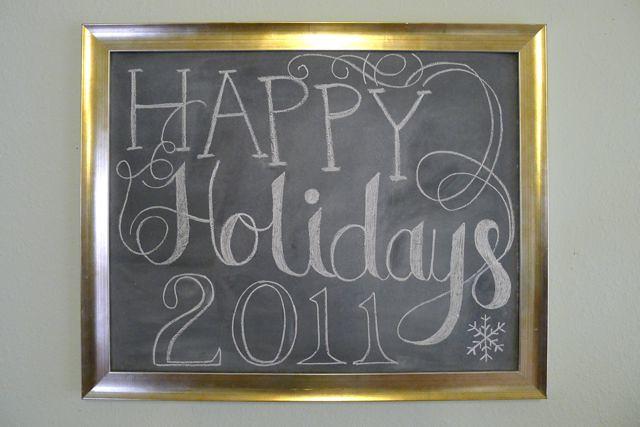 Holidays Sign
