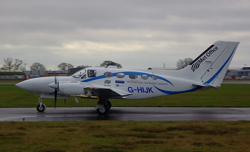 G-HIJK. Cessna 421C Golden Eagle ~ 6th December 2011.