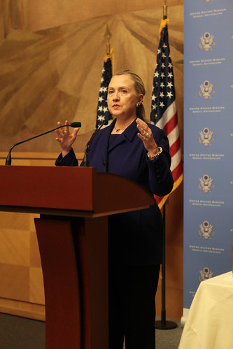 Secretary Clinton Speaks With LGBT Activists and Supporters
