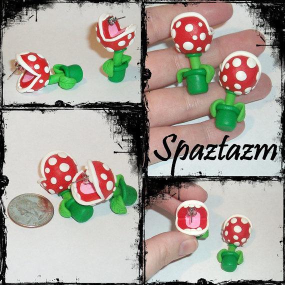 Coleção Brincos do Mario Bros