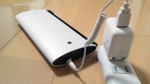 SONY Tablet P の充電はこれで決まり、かな!
