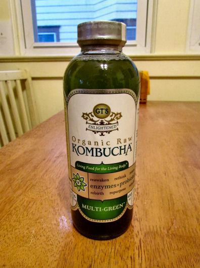 Multi Green Kombucha has Chlorella