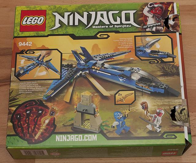LEGO NinjaGo 9442 - Back