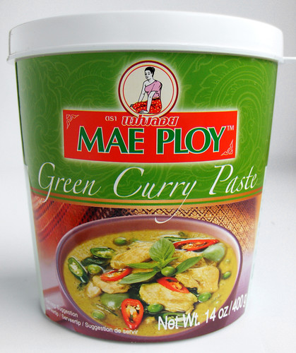 Thaise groene curry van Mae Ploy