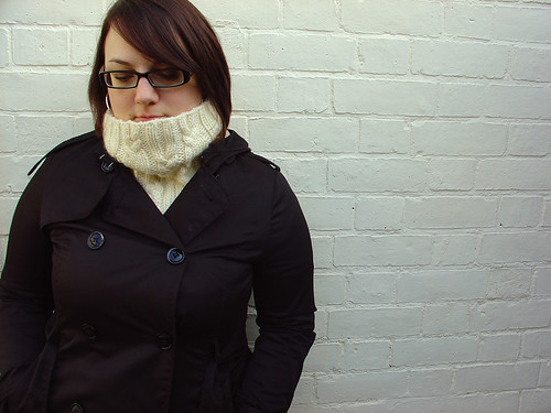 Coupled Cowl: White