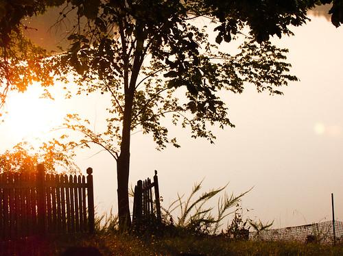sunset summer virginia afternoon july newportnews 2011 newportnewspark