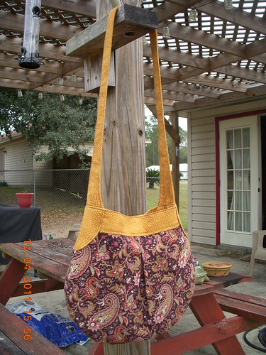 Exterior Teardop Bag