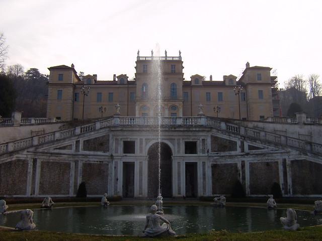 fontana e villa della regina - Torino