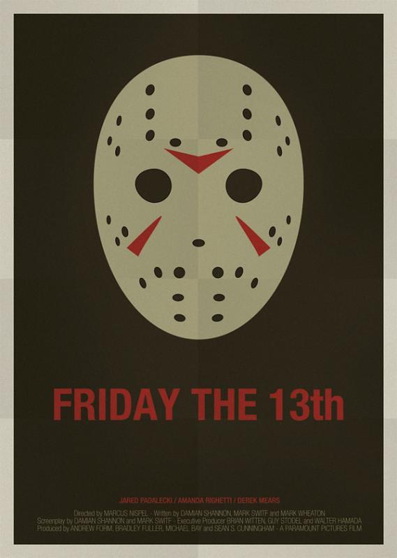 Máscaras e seus filmes , Jason, sexta-feira 13