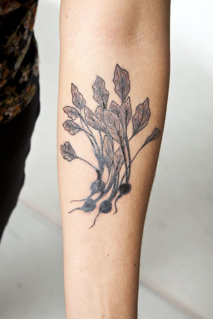 My Beet Tattoo