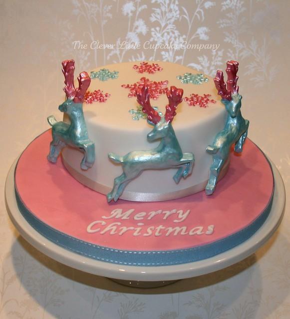 Reindeer Christmas Cake | Flickr - Photo Sharing!