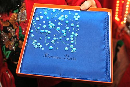 Julegavetips - Vintage silkesjerf fra Hermes