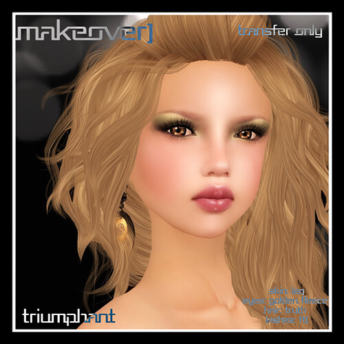 Triumphant Makeover [eyes/lips/blush] by Mocksoup