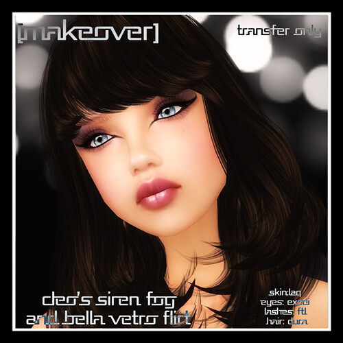 Cleo's Siren Fog and Bella Vetro Flirt Makeover [eyes/lips/liner] by Mocksoup