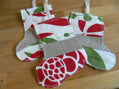 Jenny: Scrappy Stocking gift card holder