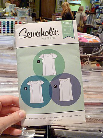 Sewaholic's Pendrell blouse