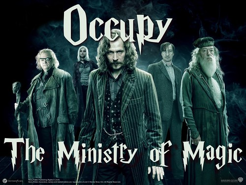 Occupy the Ministry of Magic by Teacher Dude's BBQ