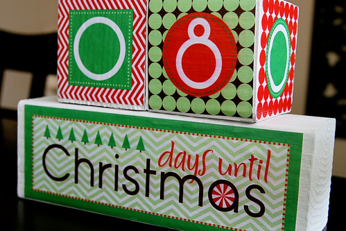 Christmas Countdown Blocks 2