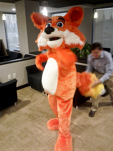 Day 350 - New Firefox Costume