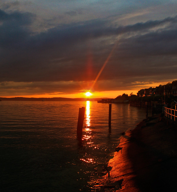 0258 - Germany, Meersburg, Sunset HDR