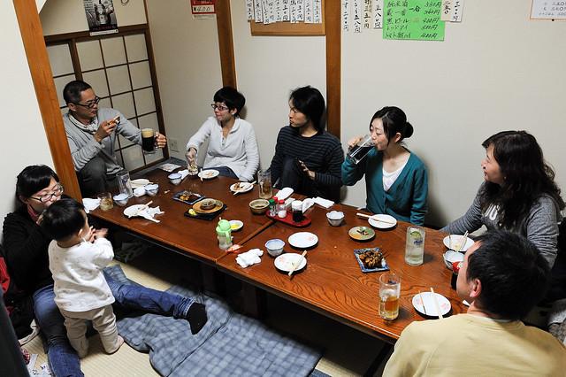 跟日本人吃飯乾杯