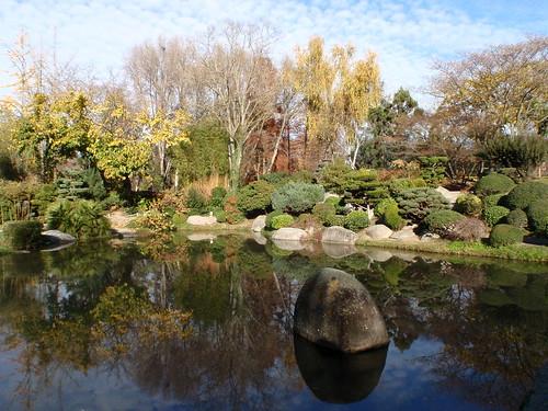 ogród japoński w tuluzie