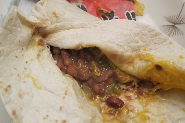 Bean And Cheese Burrito Del Taco Del Taco: Bean & C...
