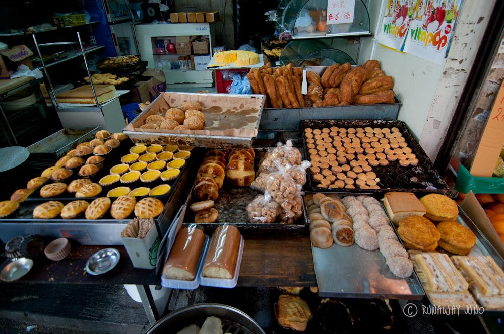 Chinese bakery near Shau Kei Wan Market