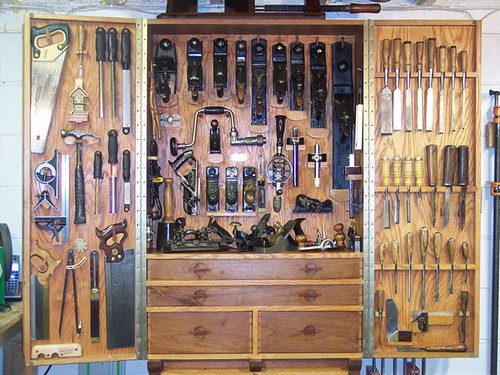 Woodnet forums show me your tool cabinet - Wood cabinet design software ...
