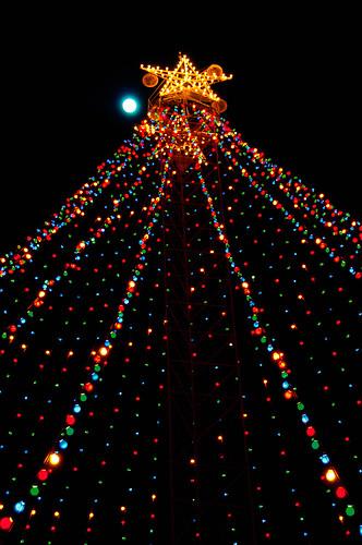 Moon Tower Aglow | Zilker Tree 2011