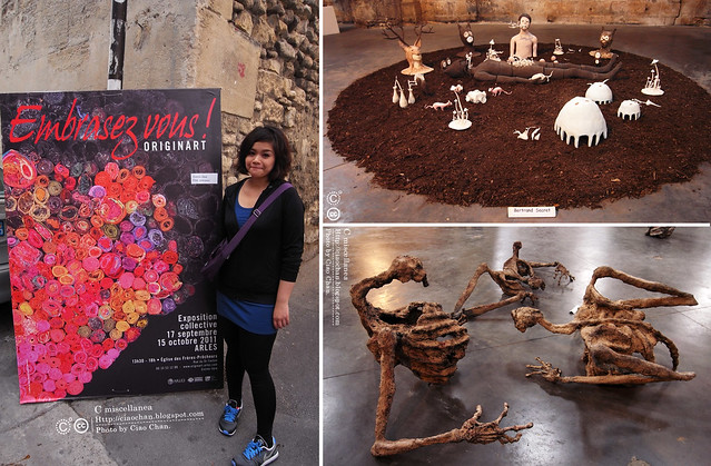 Bonjour Arles~ 亞耳。梵谷藝術中心 + 法國藝術家作品聯展   R1042133