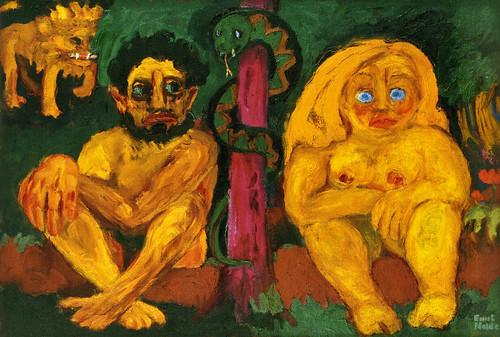 [ N ] Emil Nolde - Paradis perdu (1921) by Cea.