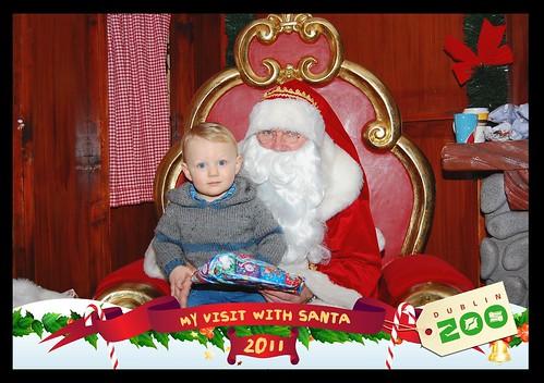 Visiting Santa, 2011