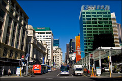 Lower Queen Street in Britomart