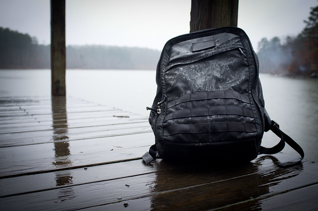 Goruck GR1 Backpack Gets Wet