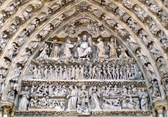 JUDGEMENT DAY. Notre Dame Cathedral, Amiens, France