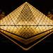 Louvre en OR HDR ~ Paris ~ France ~ Louvre ~by D.F.N. by '^_^ Damail Nobre ^_^'
