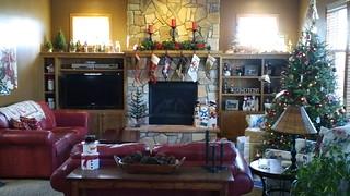 McCoy Christmas Living Room