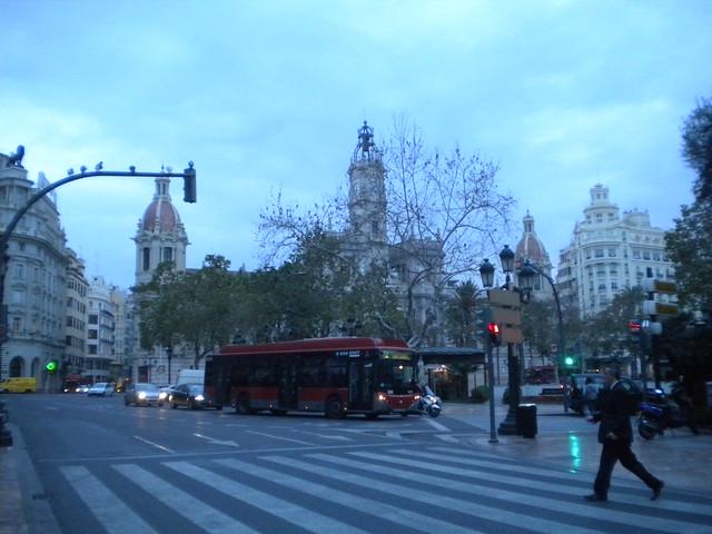 Despierta la ciudad de Valencia