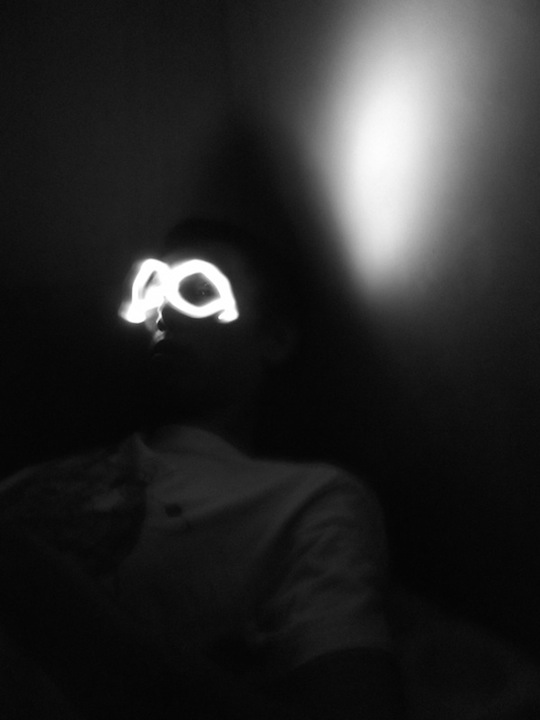glasses made of light