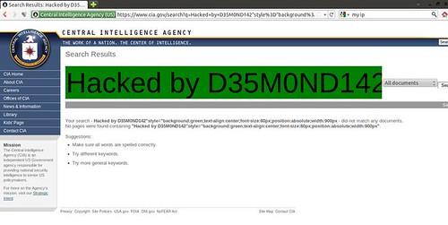 cia.gov hacked