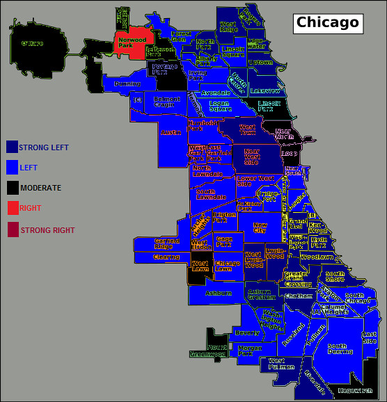 Chicago political map | A neighborhood map of Chicago's poli… | Flickr