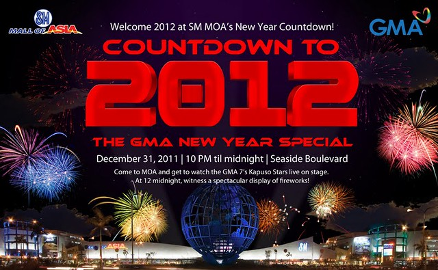 new year countdown in sm moa