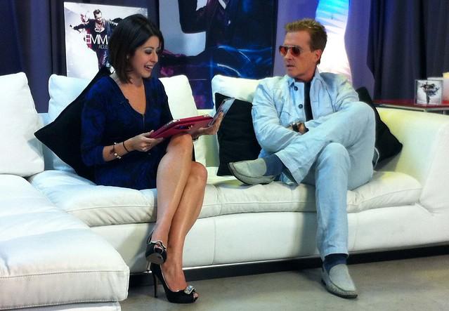Emmanuel con Dafne Guzmán