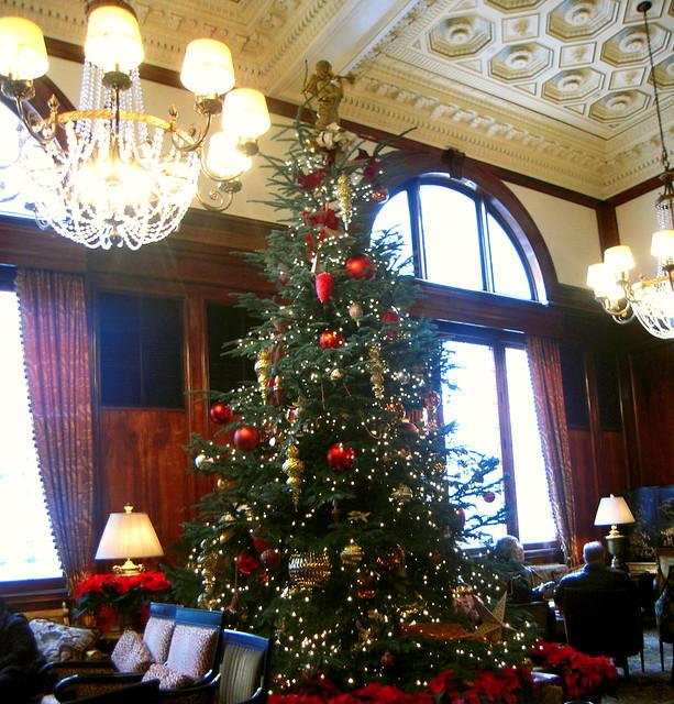 Benson Hotel Lobby Christmas Tree